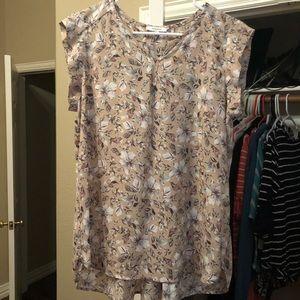 Very nice sleeveless shirt/blouse (med)